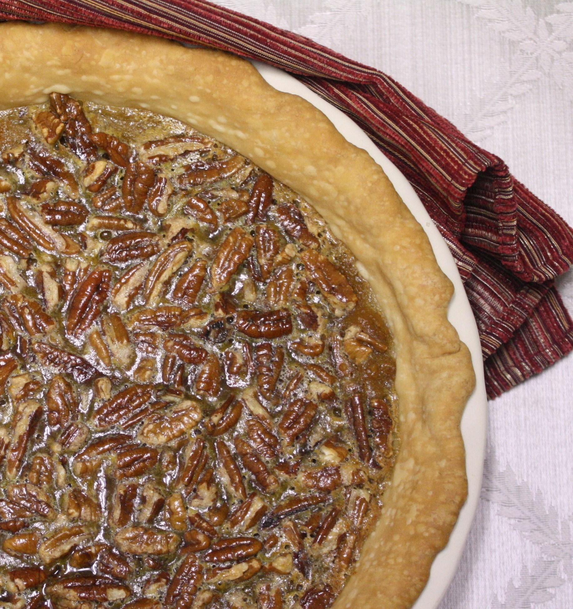 Torn Between Two Pies - Sweet Potato Pecan Pie - Cooking Clarified