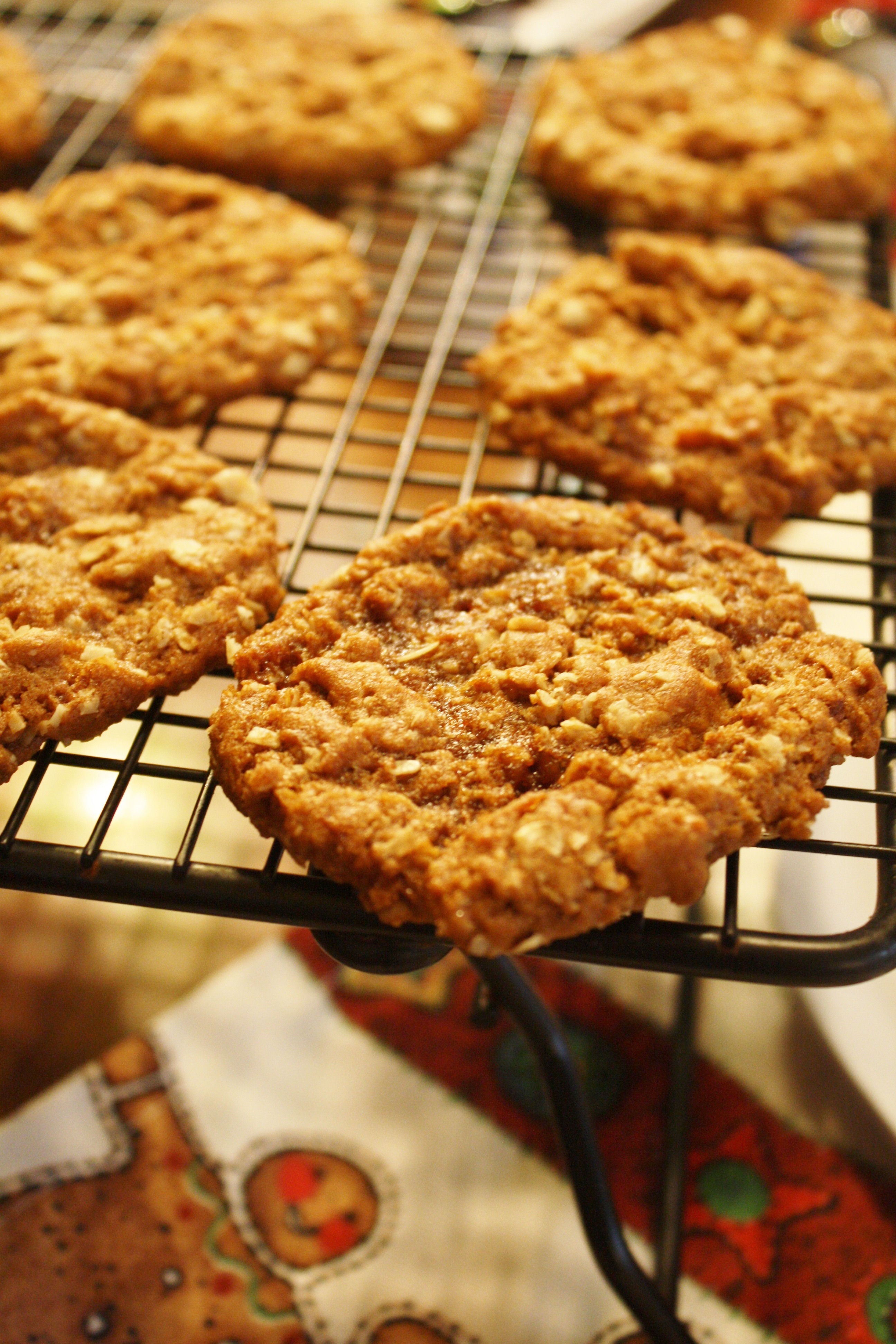 Christmas Cookies From Around The World With Pictures.Anzac Biscuits Christmas Cookies From Around The World